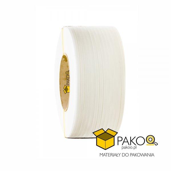 Taśma polipropylenowa PP 12 x 0.60/200/2500 m/biała