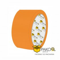 Taśma samoprzylepna o szerokości 48 mm/ klej akrylowy, kolor pomarańczowy / 50 m
