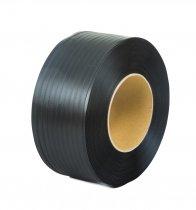 Taśma polipropylenowa PP 12 x 0.60/200/2500 m/czarna