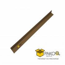 Narożnik kątownik tekturowy 100 cm (boki 4 x 4 cm)