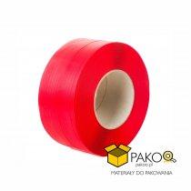 Taśma polipropylenowa PP 12 x 0.60/200/2500 m/czerwona