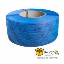 Taśma polipropylenowa PP 09 x 0.55 mm/200/3200 m/niebieska z twoim nadrukiem